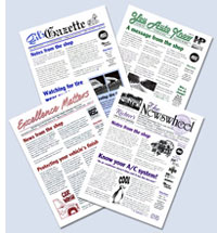 Auto Shop Newsletters